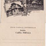 Carti Postale Romania pana la 1904, Necirculata, Printata - Baile Govora (Valcea) - Vilele Eftimiu, Mercur - cromo litografie