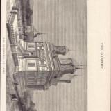Harta - * Litografie Manastirea Curtea de Arges 1882