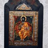 Icoana Isus in glorie