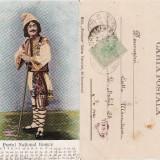 Carti Postale Romania pana la 1904, Circulata, Printata - Port national roman - Cioban- clasica 1904