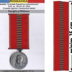 PANGLICA CRUCIADA IMPROTRIVA COMUNISMULUI (replica) - Ordin/ Decoratie