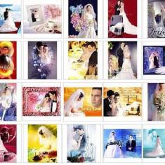 Template-uri PSD pentru nunti