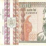 ROMANIA 500 Lei / 1992