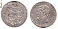 Monede Romania - * Moneda 5 lei 1901