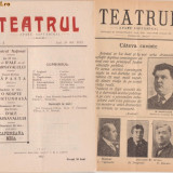 16 nr. Revista TEATRUL (1912, Iasi) - Carte traditii populare