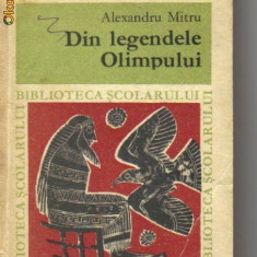 Roman - Alexandru mitru - din legendele olimpului