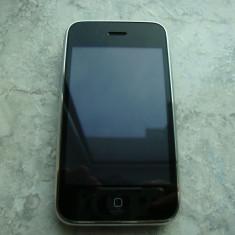 iPhone 3Gs Apple 16GB black codat orange, Negru, Neblocat