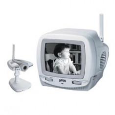 Sistem fara fir monitor si 3 camere - Monitor supraveghere