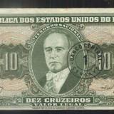 BRAZILIA-10 CRUZEIROS-CIRCULATA-BR5, America Centrala si de Sud