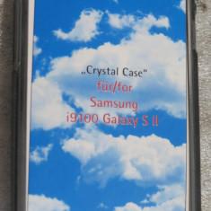 1133plu Carcasa telefon toc telefon mobil transparent Samsung i9100 Galaxy S II Crystal Case Transparenta - Husa Telefon