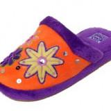 Papuci de casa NOI mar 32 33 - Papuci copii, Culoare: Orange