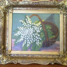 Tablou - Cos cu Lacramioare 2 - pictura ulei