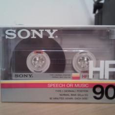 Casetofon - Caseta Audio SONY HF-90 Sigilata