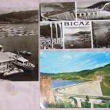 Set 3 vederi BICAZ, 2 alb-negru si unacolor, necirculata, dar inscriptionata cu anul cumpararii: 1967