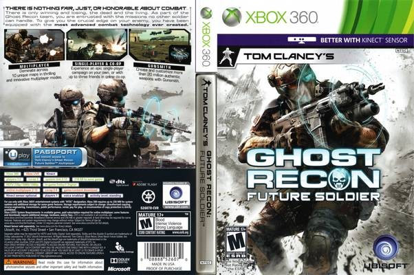 Tom Clancy's Ghost Recon Future Soldier.
