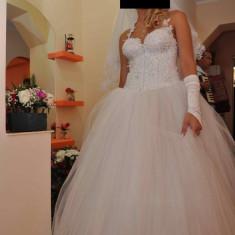 Rochie de mireasa printesa - Rochie de mireasa