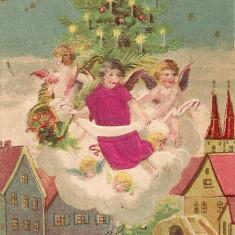 Carte postala - Sarbatorile cu bine - 1903