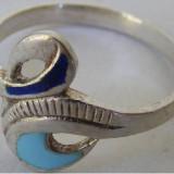 Inel vechi din argint (102)