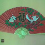 evantai chinezesc din bambus