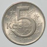 821 CEHOSLOVACIA 5 KOROANE 1967