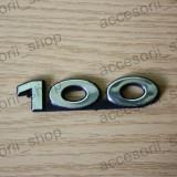 Emblema scris 100 AUDI - Embleme auto