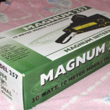 Statie MAGNUM 257 Ridicata la 50W + Antena PRESIDENT cu talpa magnetica - Statie radio