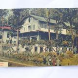 CP-BAILE GOVORA-VILA MERCUR - Carti Postale Romania dupa 1918, Circulata