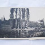 CRAIOVA-PARCUL BIBESCU -LACUL-INTERBELICA - Carti Postale Romania dupa 1918, Circulata