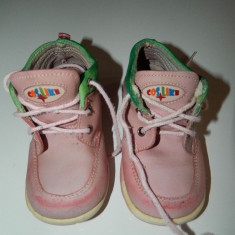Pantofi, Papucei, ghete piele, fetite, marimea 23, toamna, LICHIDARE DE STOC! - Ghete copii, Culoare: Roz, Fete, Piele naturala