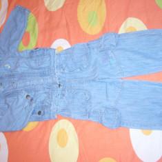 Haine Copii 1 - 3 ani, Blugi, 92 (2 ani, inaltime 87 - 92 cm), Bleu - COSTUM JEANS MC'BABY UNISEX : 1-3ANI PRET 50 RON