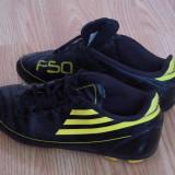 Ghete fotbal - Adidasi fotbal adidas f50 traxion originali, piele naturala, marime 38, pret 60
