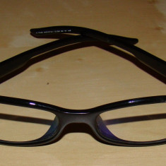 Rame ochelari dama DIOR cu toc original - Rama ochelari Dior, Femei, Negru, Ovale, Plastic, Rama intreaga