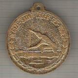 C350 Medalie -Canotaj(caiac-canoe)Decize-Saint-Leger-Des-Vignes-Franta? -marime cca 40X45mm, gr. aprox 26 gr. -starea care se vede