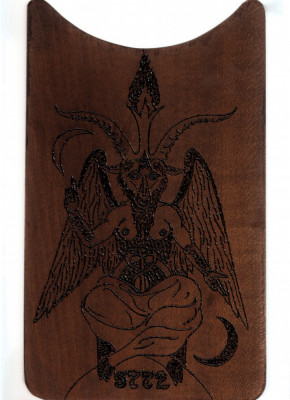 PLACHETA ESOTERICA (MASONI, TEMPLIERI) - BAPHOMET (BAFOMET) foto