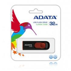 Memorie - Stick USB ADATA 32GB MyFlash C008 2.0 (black), USB 2.0