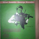 Manual de vioara(volumul3)-Ionel Geanta, George Manoliu - Carte Arta muzicala
