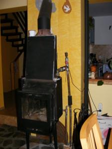 centrala termica pe lemne foto