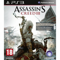 Jocuri Xbox 360, Role playing, 18+, Multiplayer - PE COMANDA ASSASSINS CREED 3 III PS3 XBOX360