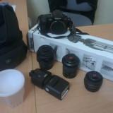 VAND ECHIPAMENT FOTO SONY COMPLET - DSLR Sony, Kit (cu obiectiv), 10 Mpx