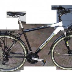 Vand bicicleta Cyco cityline - germania - Bicicleta de oras, Curbat(Risebar), Aliaje de aluminiu, Cu amortizor, Baieti