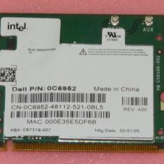 Placa wireless miniPCI Intel Pro Wireless 2915abg pentru laptopuri Dell