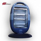 Nou! Incalzitor Gardelina cu 3 becuri de halogen Gpower radiator caldura foto