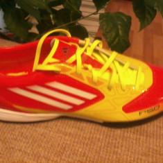 Adidas F 50 - Adidasi barbati, Marime: 44 2/3, Culoare: Rosu, 44 2/3, Rosu