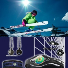 Bratara Energetica Power Balance - Imunatateste Puterea, Echilibrul si Flexibilitatea - Bratara magnetice, Unisex