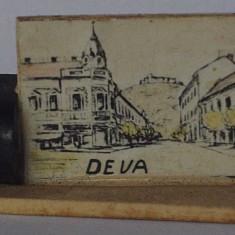 Microvedere-bibelou, Deva, R. P. R., circa 1955, format 20 x 23 x 37, 5 mm
