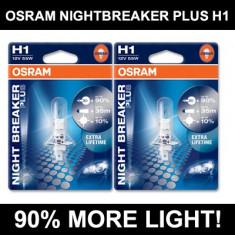 OSRAM H1 NIGHT BREAKER- Bec auto