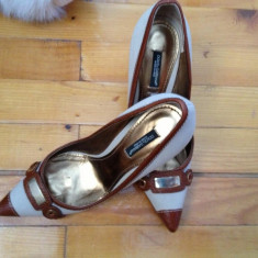PANTOFI DOLCE& GABANNA - Pantof dama Dolce & Gabbana, Marime: 36, Culoare: Bej, Bej