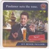 Cartonas de colectie - Suport de pahar / Biscuite PAULANER