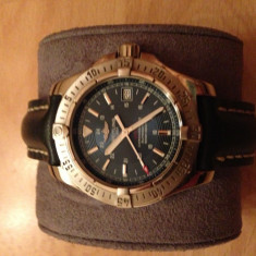 Ceas Breitling Colt Automatic - Ceas barbatesc Breitling, Casual, Mecanic-Automatic, Inox, Piele, Analog