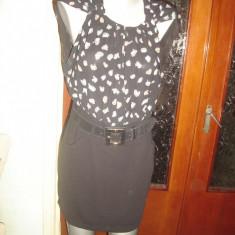 Rochie dama neagra EXCELENT-marimea M - Rochie cocktail, Marime: M